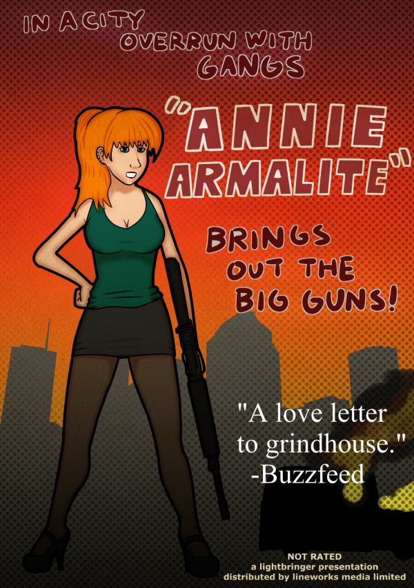 """Annie Armalite"", starring April Anne Price by lirvilas"