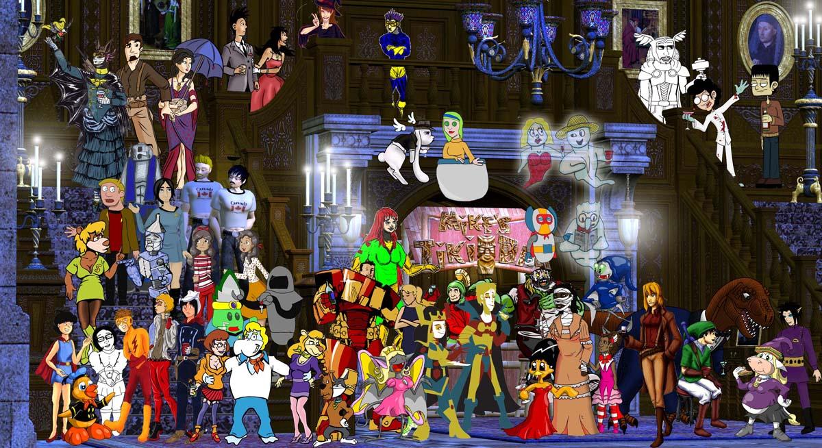Webcomics Underdogs Halloween Party 2014